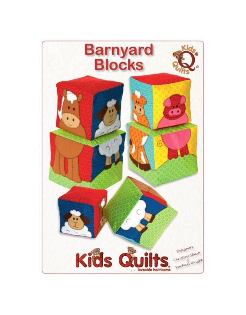 Kids Quilts Barnyard Blocks