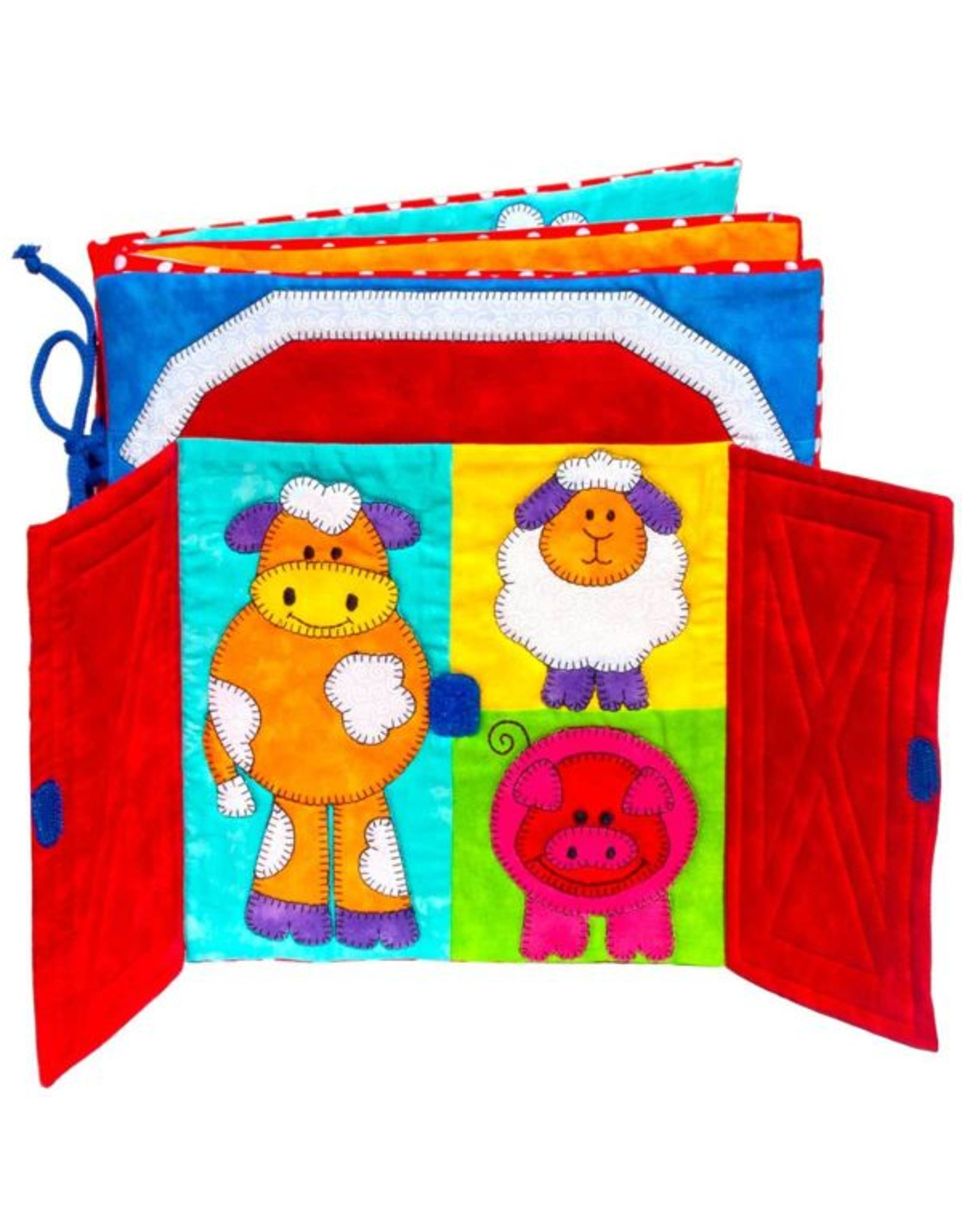 Kids Quilts Farmer Joe's Quiet Book