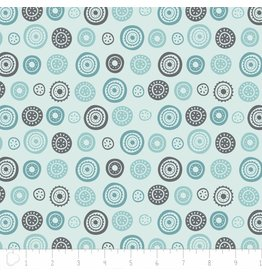 Camelot Josephine - Circles in Light Turquoise