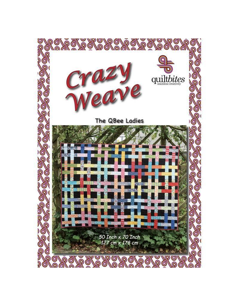 Quiltbites Crazy Weave - Bree