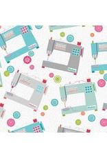 Contempo My Happy Place - Maker Machines White/Multi