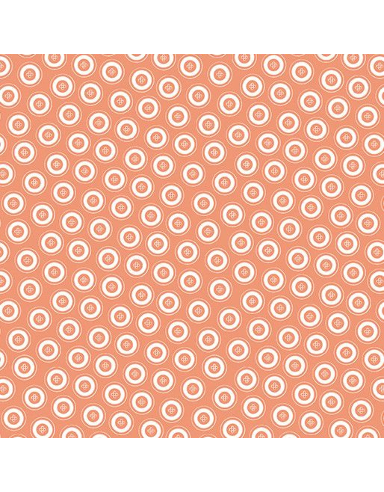 Contempo My Happy Place - Dotty Buttons Orange