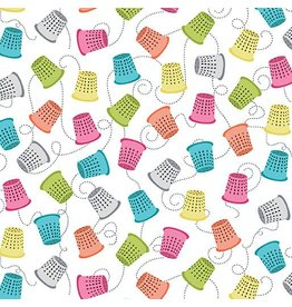 Contempo My Happy Place - Thimbles White