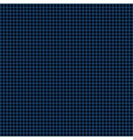 Contempo Warp & Weft - Mini Gingham Blue