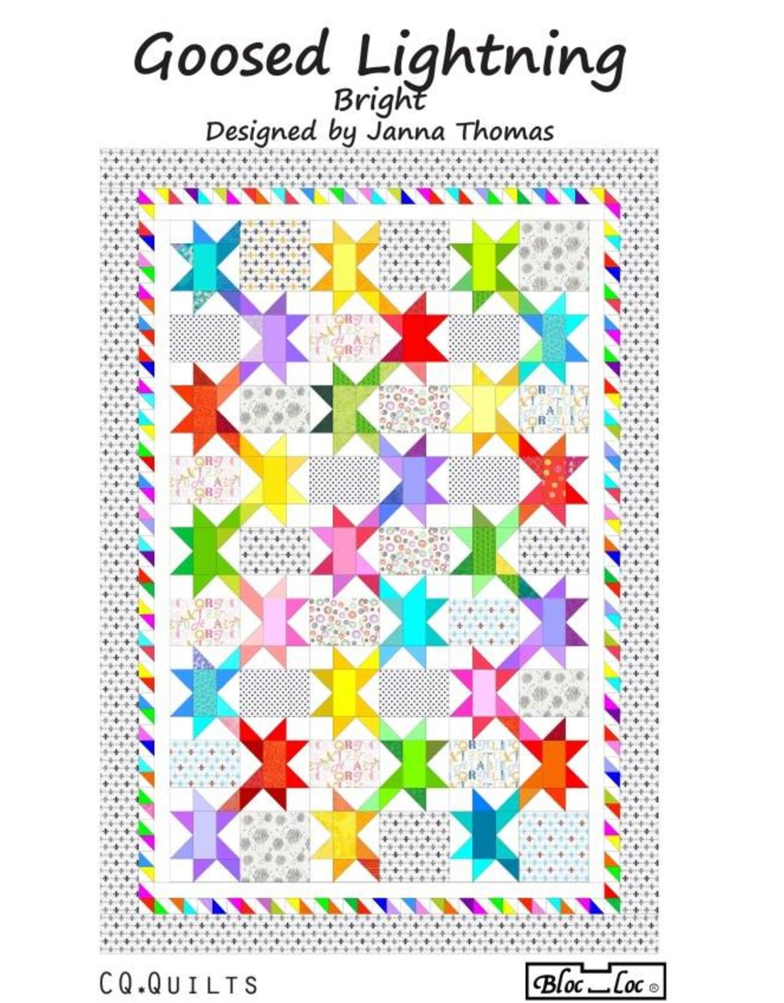 Bloc Loc Bloc Loc Pattern - Goosed Lighting 3 x 6