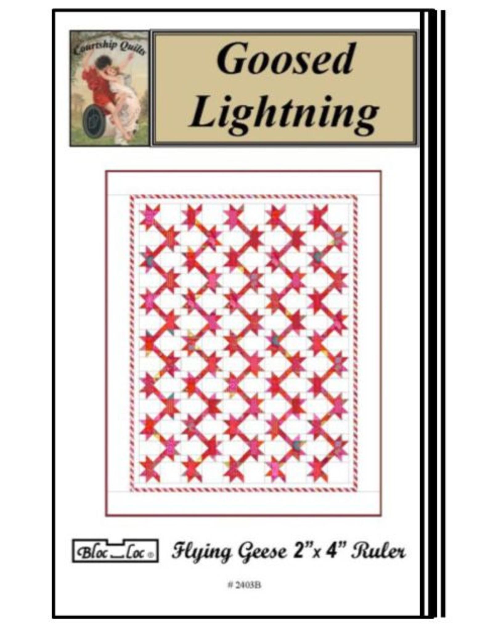 Bloc Loc Bloc Loc Pattern - Goosed Lighting Bright