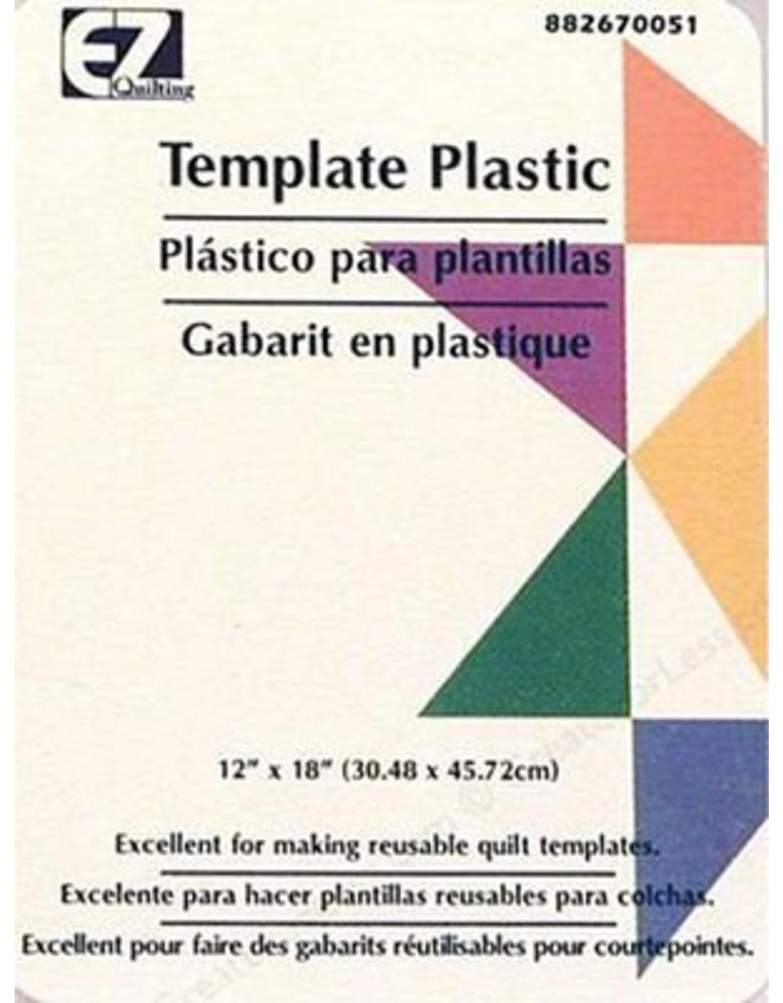 Diversen EZ Quilting template plastic - 12 x 18 inch