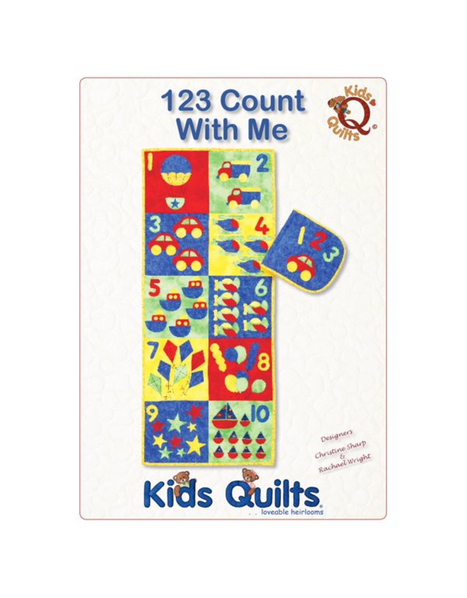 Kids Quilts 123 - Count with me - Quiet Book