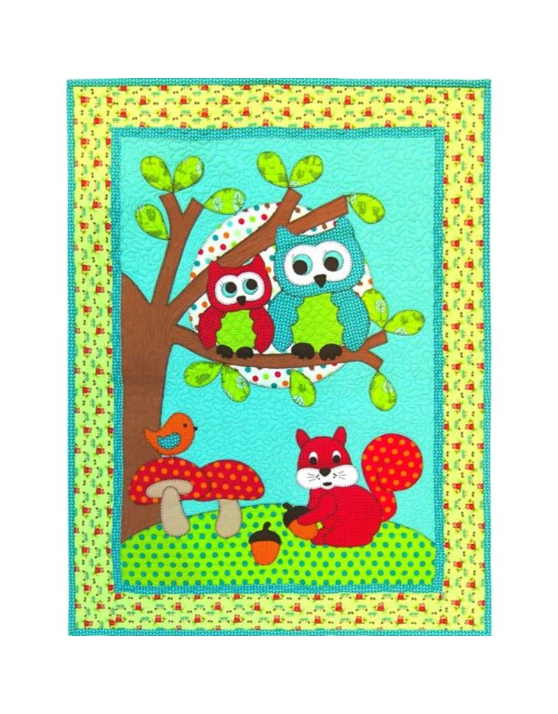 Kids Quilts Goodnight Owl
