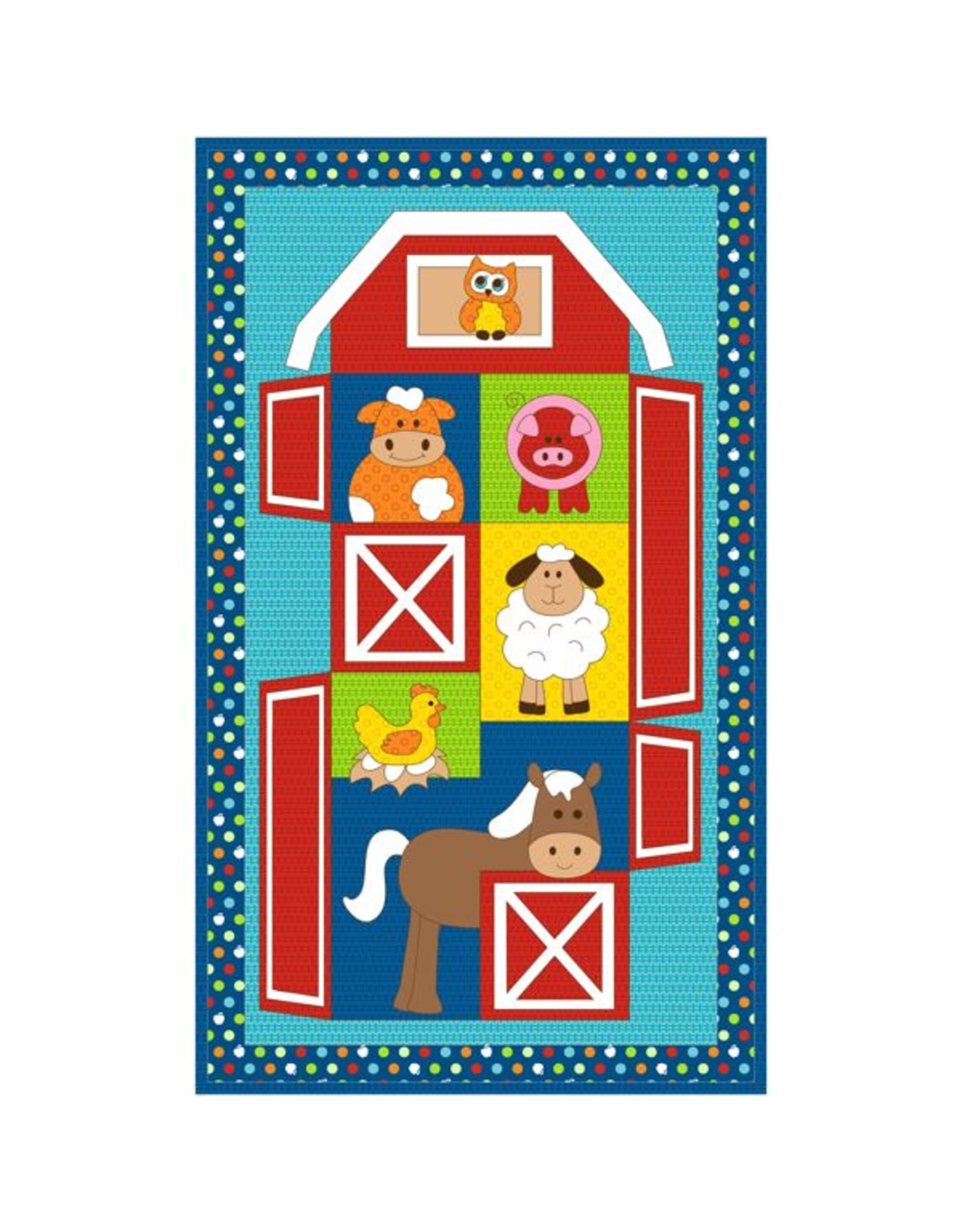 Kids Quilts Barn Stack