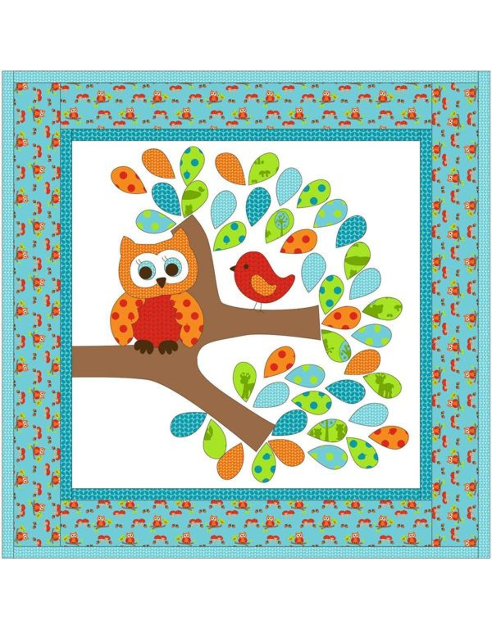 Kids Quilts Hoot