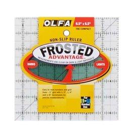 Olfa Quilt liniaal 6,5 x 6,5 inch