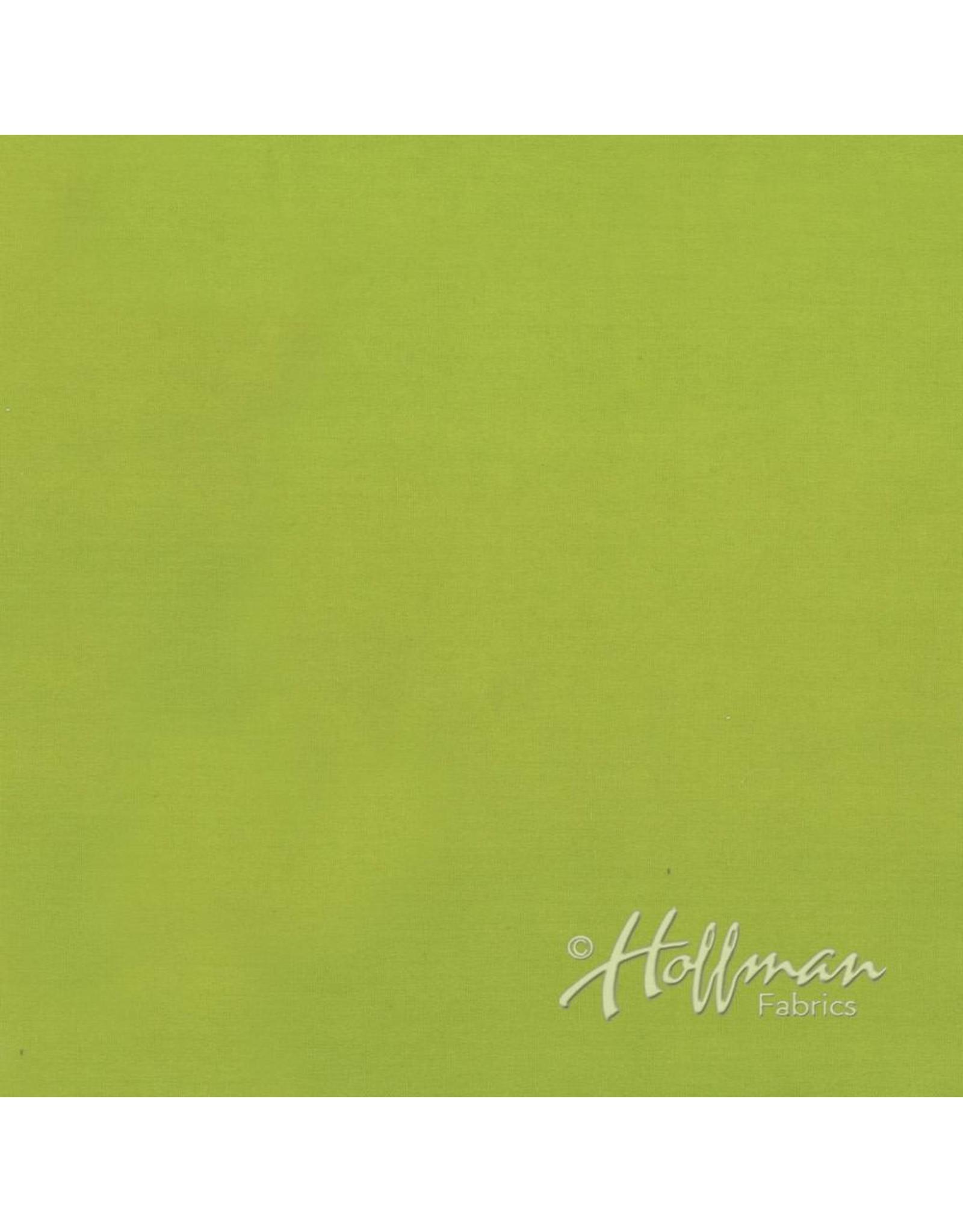 Me+You by Hoffman Fabrics Indah Solids - Avocado
