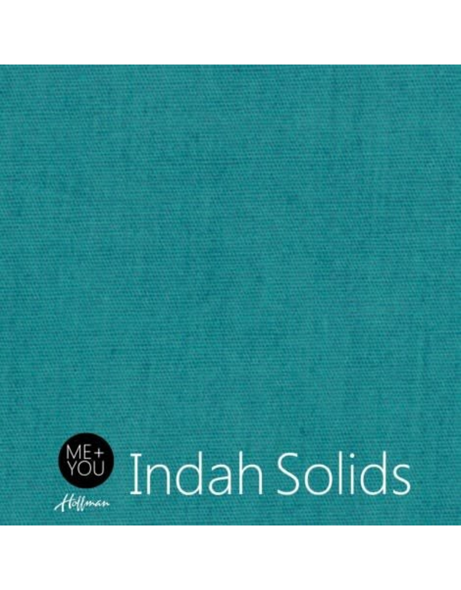 Me+You by Hoffman Fabrics Indah Solids - Teal