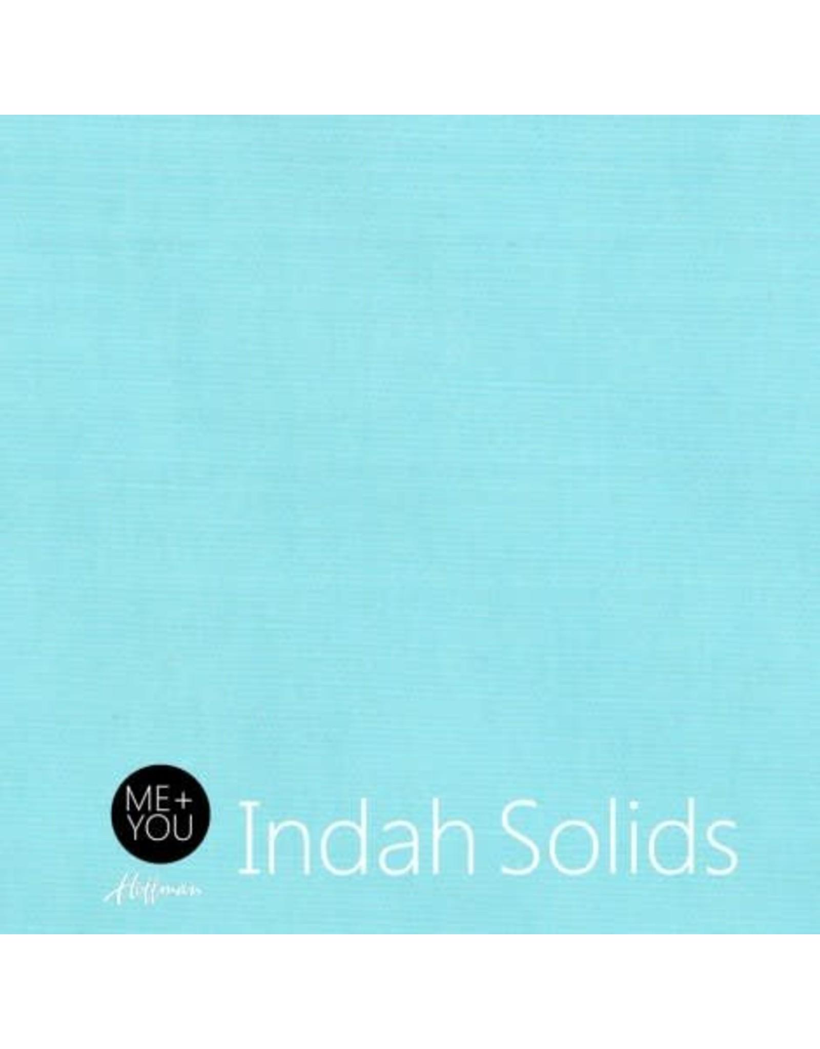 Me+You by Hoffman Fabrics Indah Solids - Seaglass