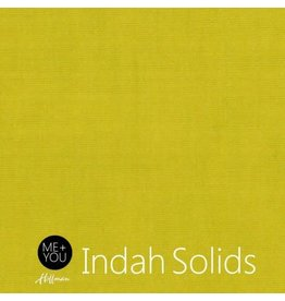 Me+You by Hoffman Fabrics Indah Solids - Chartreuse