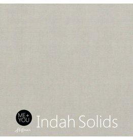 Me+You by Hoffman Fabrics Indah Solids - Warm Grey