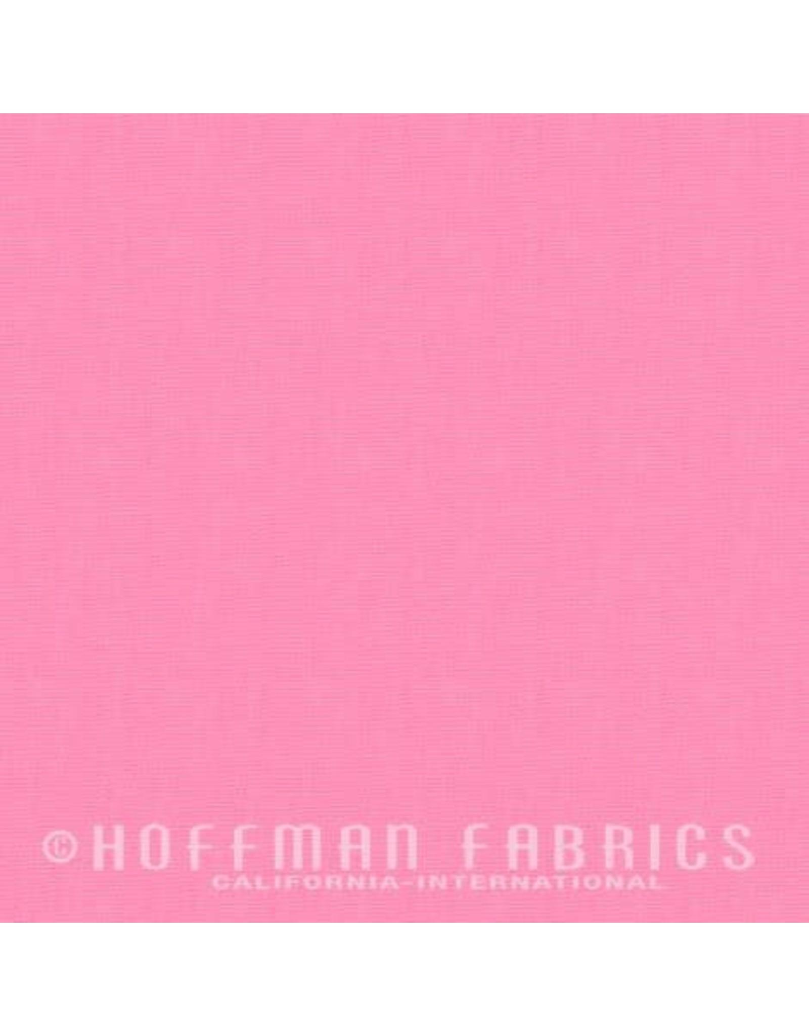 Me+You by Hoffman Fabrics Indah Solids - Bubblegum
