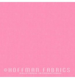 Me+You by Hoffman Fabrics Indah Solids - Bubblegum