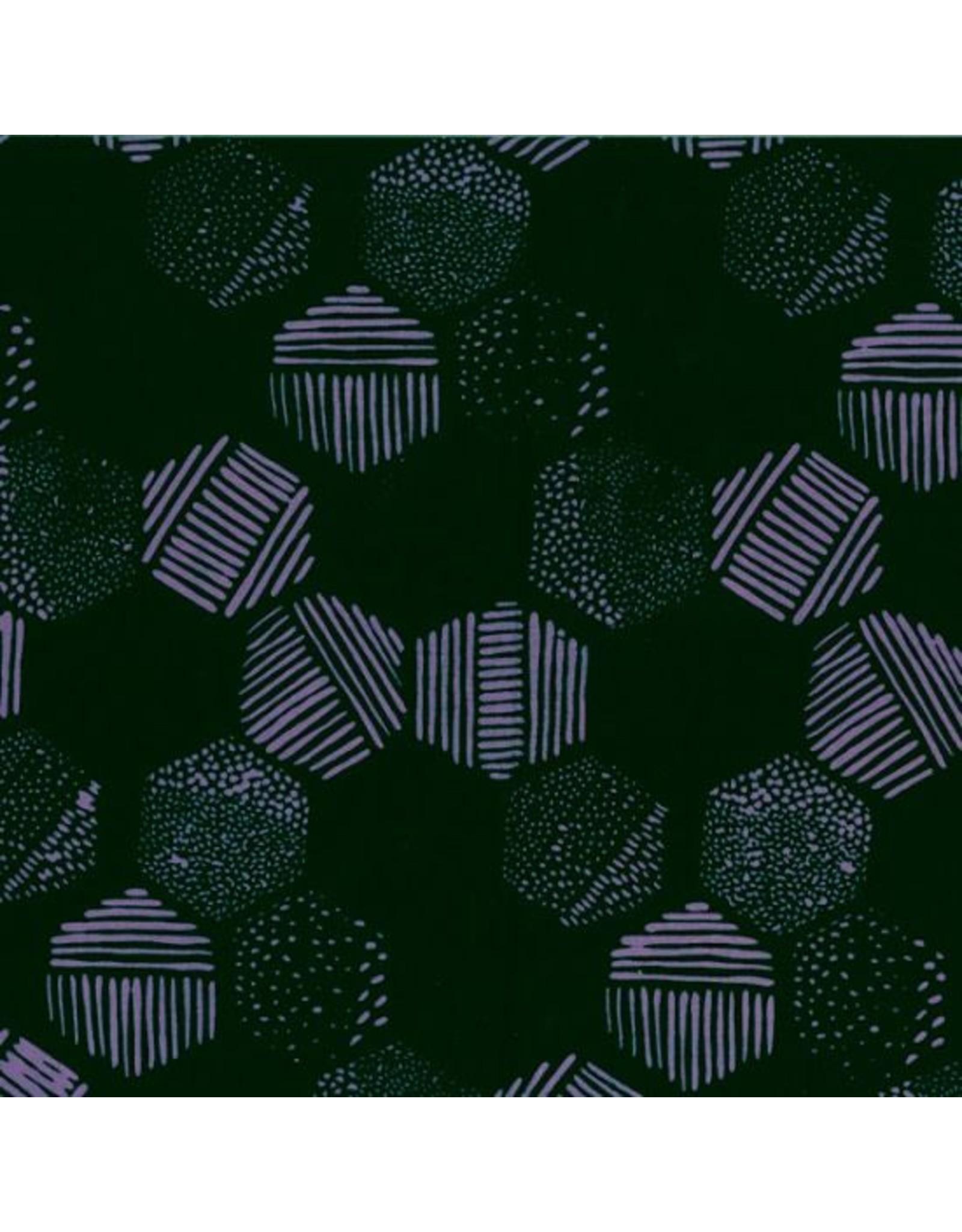Me+You by Hoffman Fabrics Indah Batiks - 180-Black Grape
