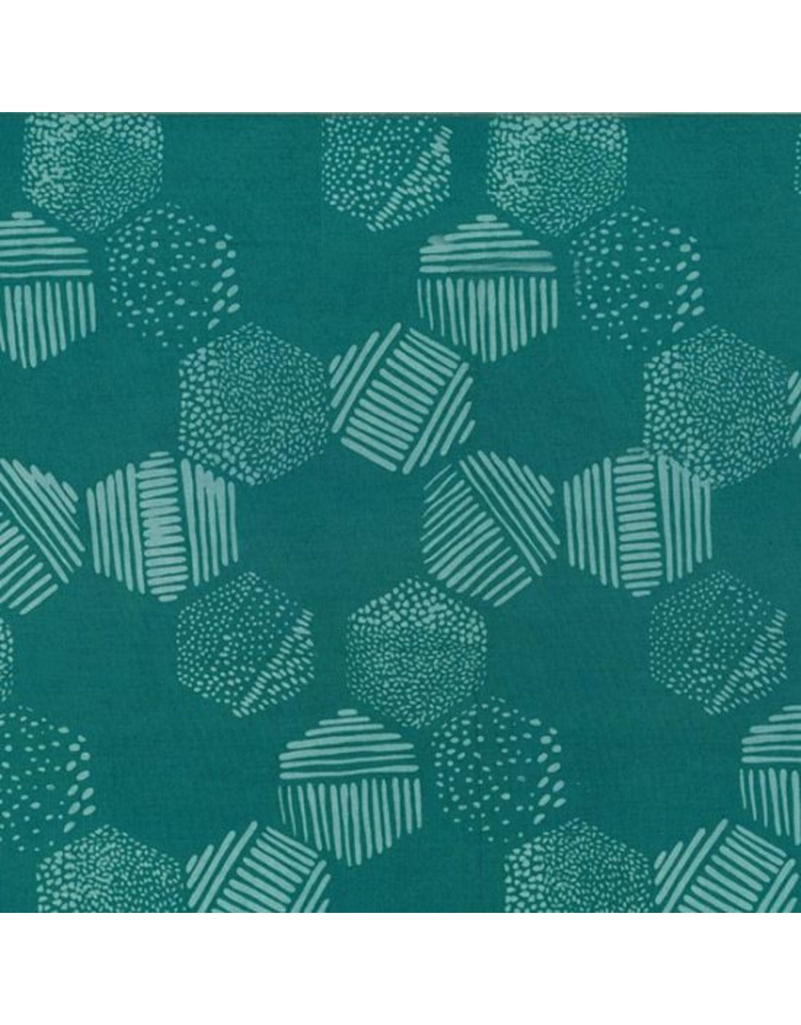 Me+You by Hoffman Fabrics Indah Batiks - 180-Dusty Teal