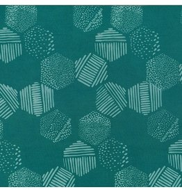 Me+You by Hoffman Fabrics Indah Batiks - 180-Dusty Teal