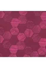 Me+You by Hoffman Fabrics Indah Batiks - 180-Burgundy