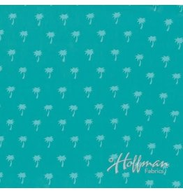 Me+You by Hoffman Fabrics Indah Batiks - 141-Lagoon