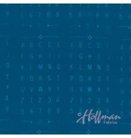 Me+You by Hoffman Fabrics Indah Batiks - 145-Waikiki