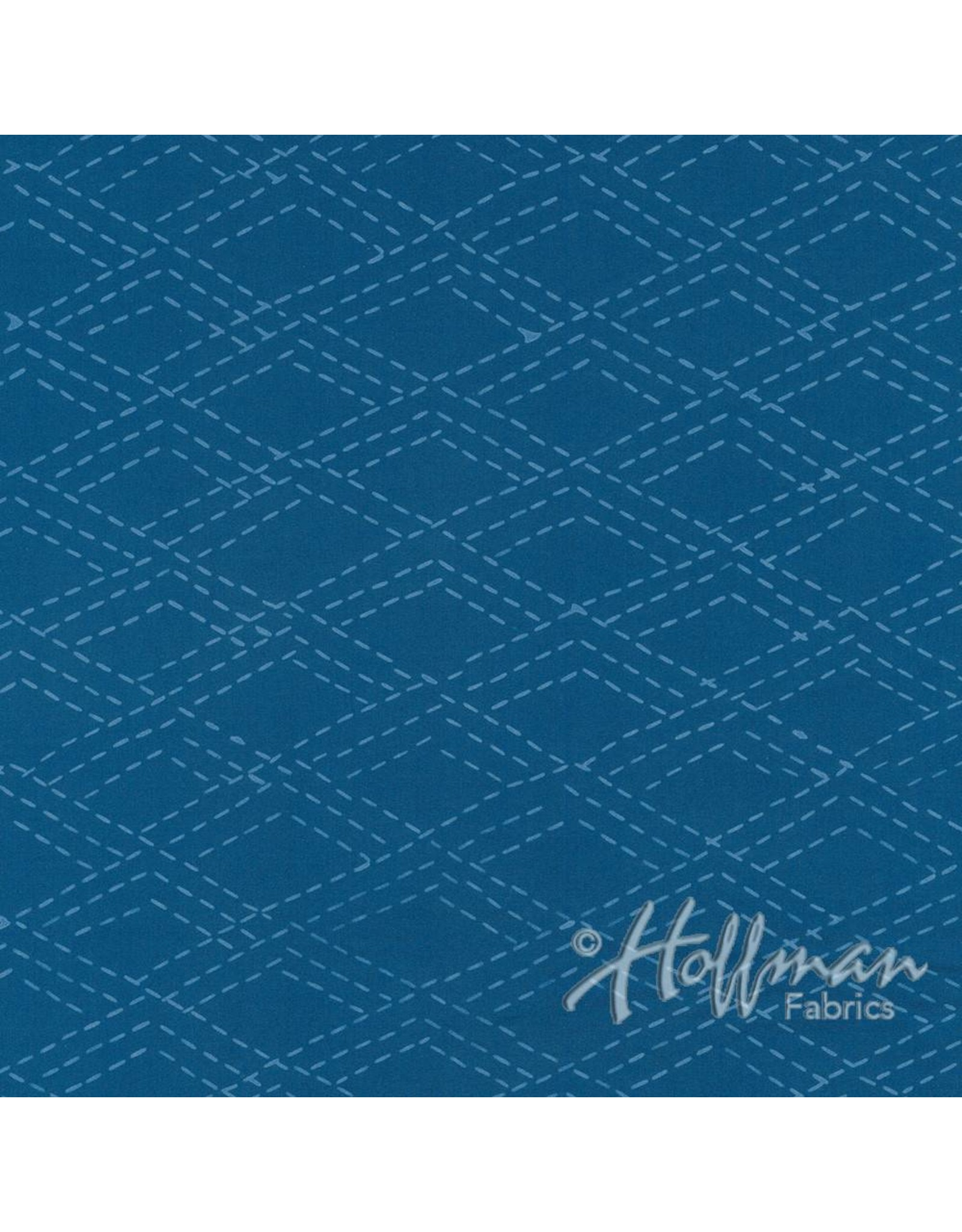 Me+You by Hoffman Fabrics Indah Batiks - 166-Cerulean