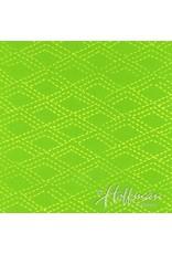 Me+You by Hoffman Fabrics Indah Batiks - 166-Key Lime