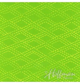 Me+You by Hoffman Fabrics Indah Batiks - 166-Key Lime