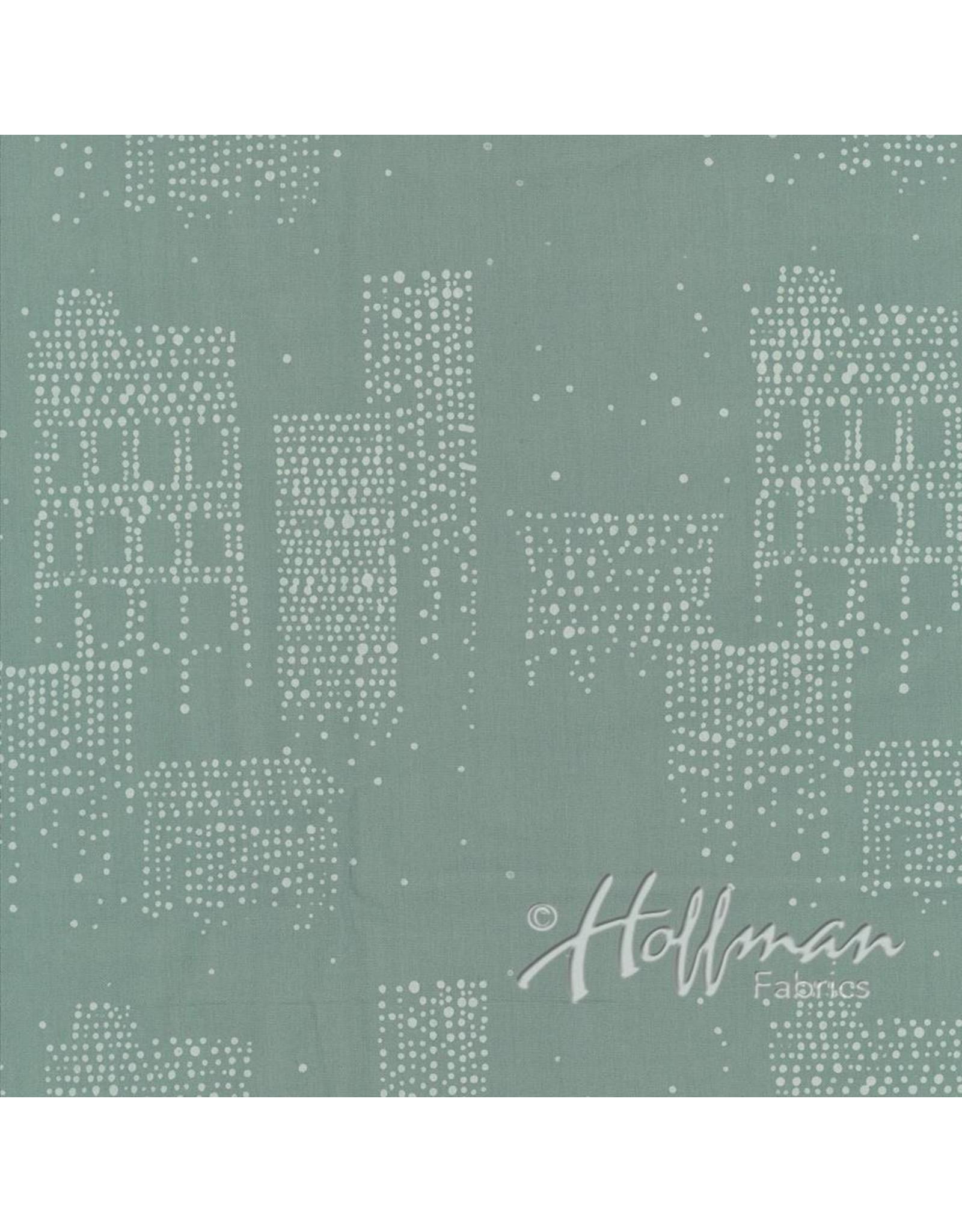 Me+You by Hoffman Fabrics Indah Batiks - 165-Marlin