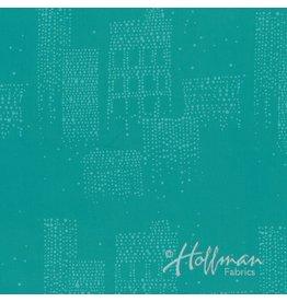 Me+You by Hoffman Fabrics Indah Batiks - 165-Lagoon