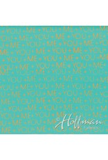 Me+You by Hoffman Fabrics Indah Batiks - 170-Reef