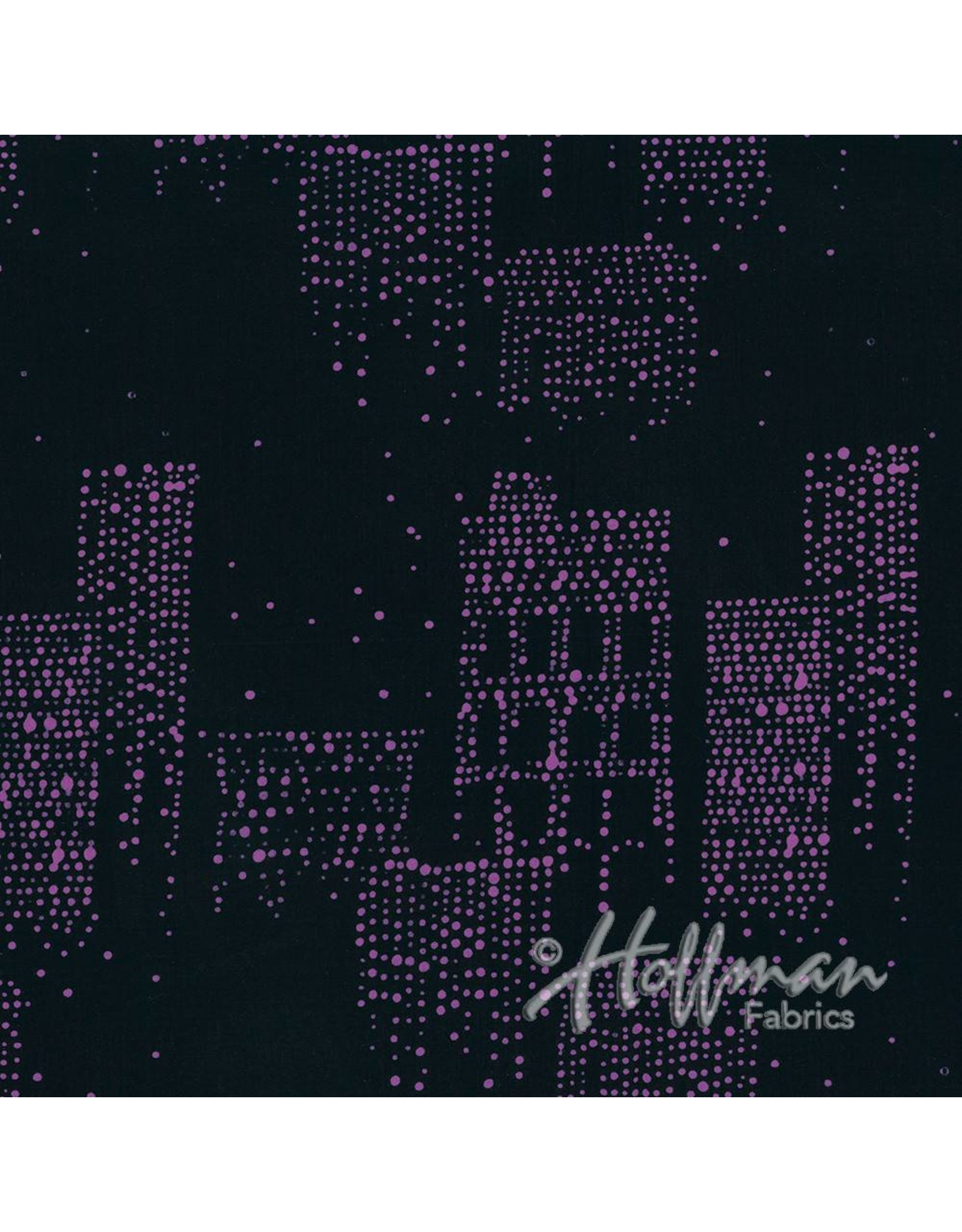 Me+You by Hoffman Fabrics Indah Batiks - 165-Midnight
