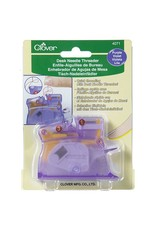 Clover Desk Needle Threader - Paars
