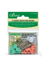 Clover Flower Head Pins - 100 stuks