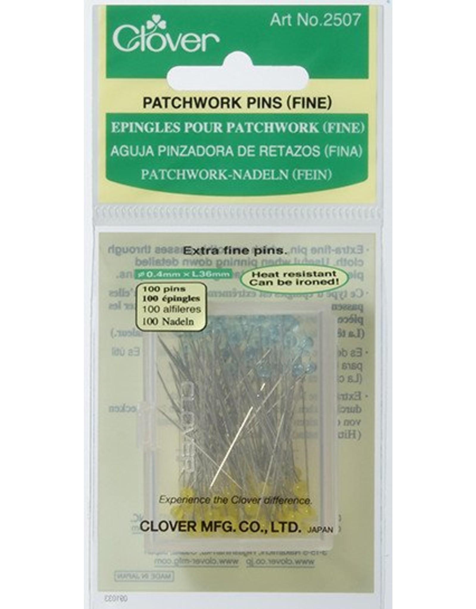 Clover Patchwork spelden - 100 stuks