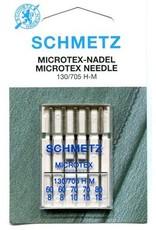 Schmetz Microtex naald - 130/705 H-M - 60/70/80 ass.