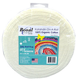 "Diversen Bosal - Katahdin On-A-Roll, Jelly Roll Rug 2.5"" x 25 yds"