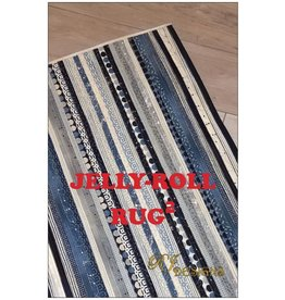 Diversen Jelly-Roll Rug - Squared