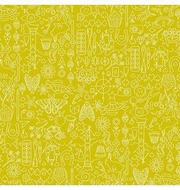 Andover Sunprint 2019 - Collection - Chartreuse