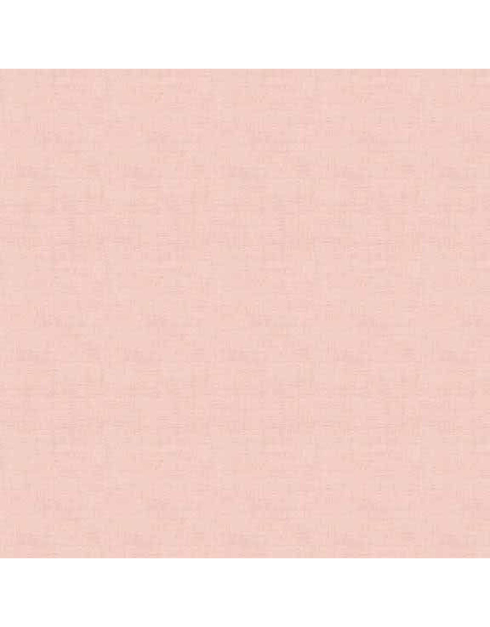 Makower UK Linen Texture - Pale Pink