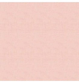 Makower UK Linen Texture - Pale Pink