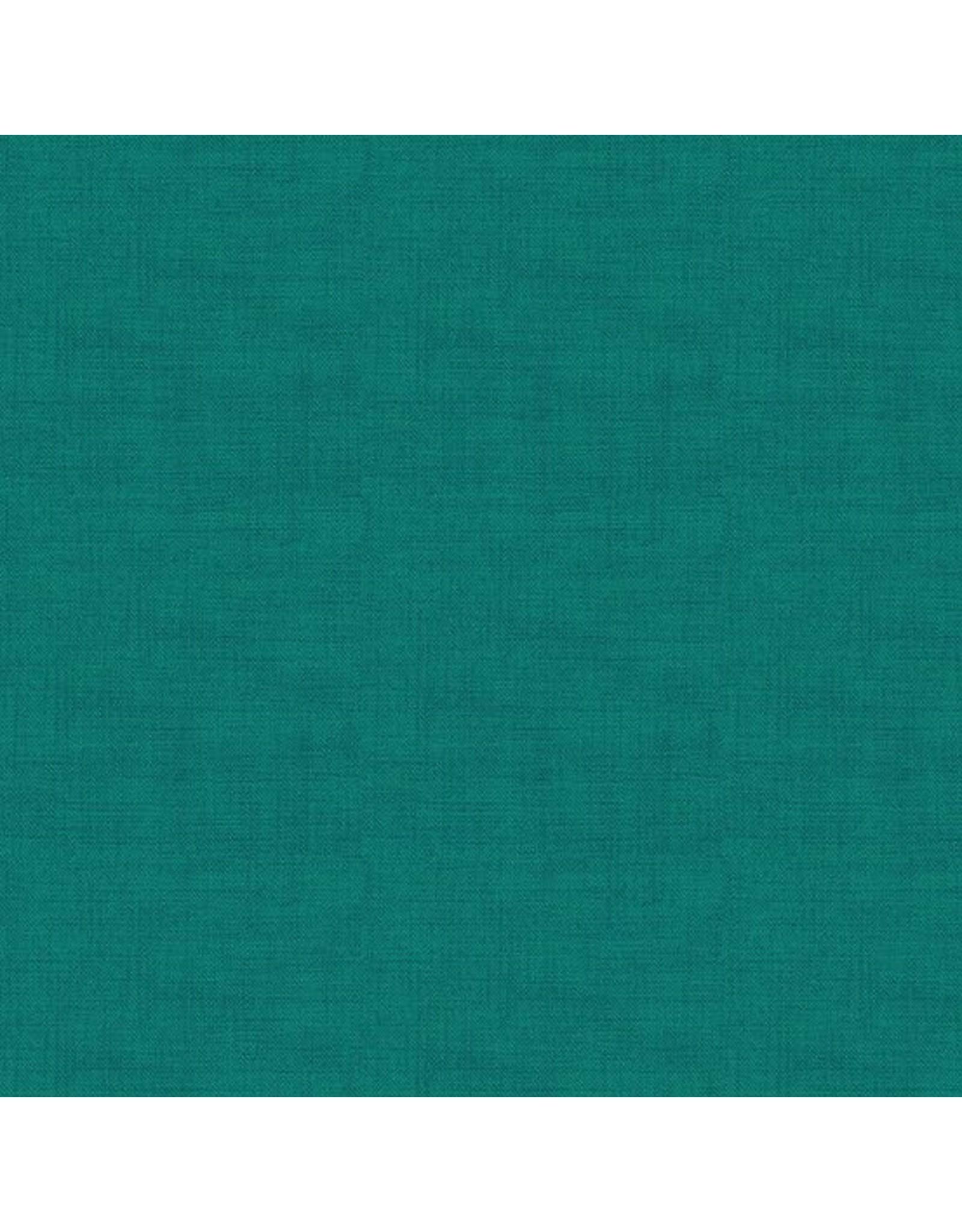 Makower UK Linen Texture - Teal