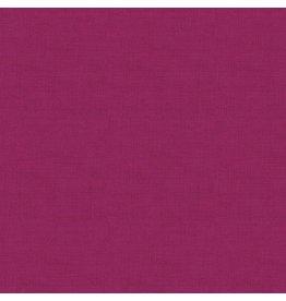 Makower UK Linen Texture - Magenta