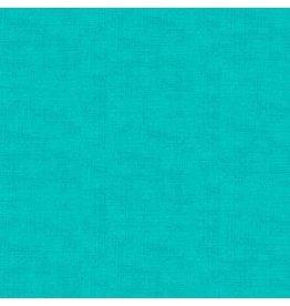 Makower UK Linen Texture - Aqua