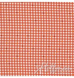 Me+You by Hoffman Fabrics Grafic - Geo Dot Flame
