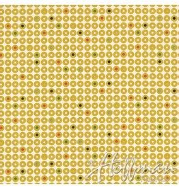 Me+You by Hoffman Fabrics Grafic - Geo Dot Mustard